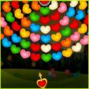 Valentines Bubble Wheel game