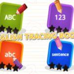 English Tracing Book